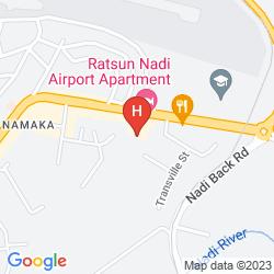 Map TANOA INTERNATIONAL NADI