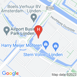 Map PARK PLAZA AMSTERDAM AIRPORT