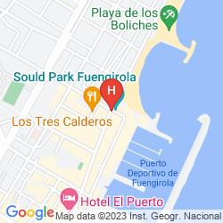 Map HOTEL LAS PIRAMIDES