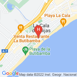 Map VIK GRAN HOTEL COSTA DEL SOL