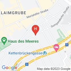 Map KOLPING WIEN ZENTRAL