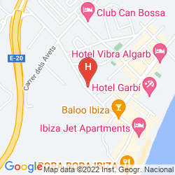Map EBANO SELECT APARTMENTS - ADULTS ONLY