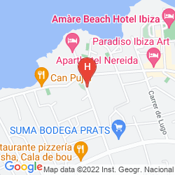 Map APARTAHOTEL CLUB MARITIM