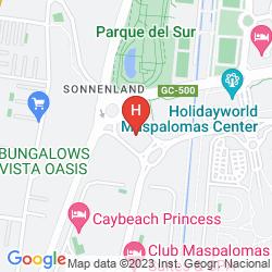 Map CANARY GARDEN CLUB
