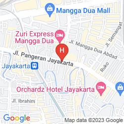 Map HORISON ARCADIA MANGGA DUA