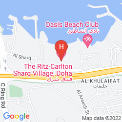 Map SHARQ VILLAGE AND SPA