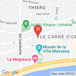 Map VILLA RIVOLI