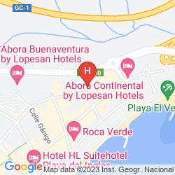 Map APARTAMENTOS LOS SALMONES