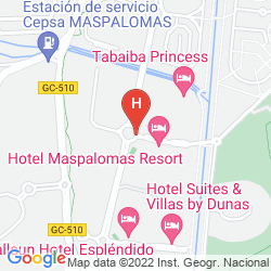 Map MASPALOMAS OASIS CLUB