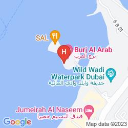 Map BURJ AL ARAB