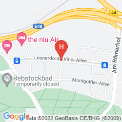 Map IBIS FRANKFURT CITY MESSE