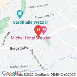 Map MICHEL HOTEL WETZLAR