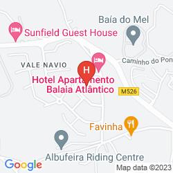Map APARTHOTEL BALAIA ATLANTICO