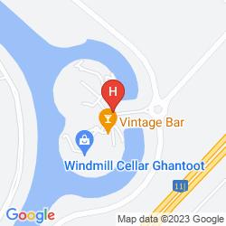 Map GOLDEN TULIP AL JAZIRA HOTEL AND RESORT