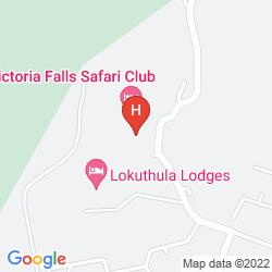 Map VICTORIA FALLS SAFARI LODGE