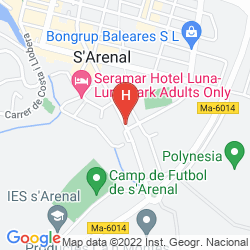 Map AZULINE HOTEL BAHAMAS & BAHAMAS II