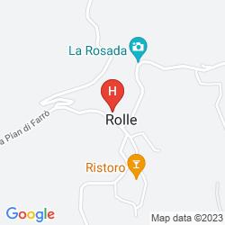 Map B&B GASTALDO DI ROLLE