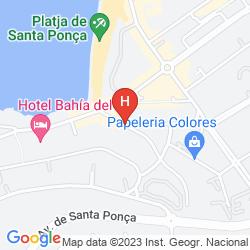 Map SENSES SANTA PONSA