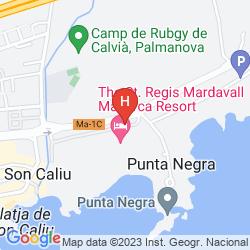 Map THE ST REGIS MARDAVALL MALLORCA RESORT