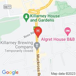 Map HOLIDAY INN KILLARNEY