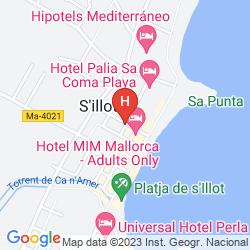 Map PLAYA BLANCA
