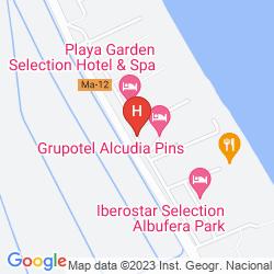 Map ZAFIRO BAHIA