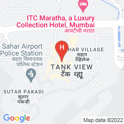 Map THE LEELA MUMBAI