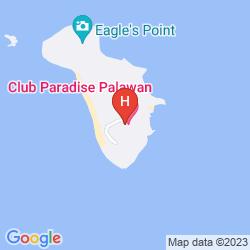 Map CLUB PARADISE PALAWAN