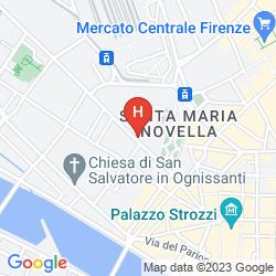 Map PALAZZO DAL BORGO