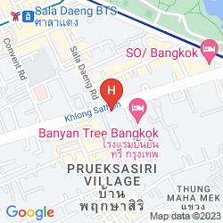 Map COMO METROPOLITAN BANGKOK