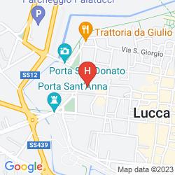 Map SAN LUCA PALACE