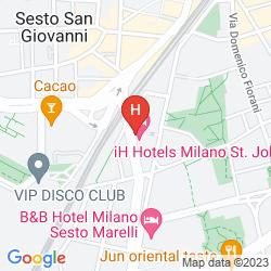 Map IH HOTELS MILANO ST. JOHN SESTO SAN GIOVANNI