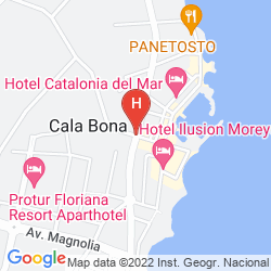 Map CATALONIA DEL MAR - ADULTS ONLY