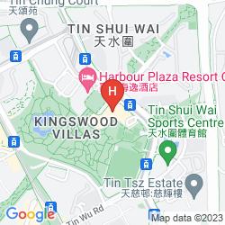 Map HARBOUR PLAZA RESORT CITY