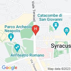 Map MERCURE SIRACUSA PROMETEO