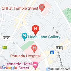 Map MALDRON HOTEL PARNELL SQUARE