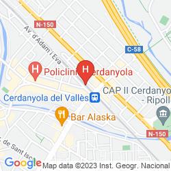Map VILA UNIVERSITARIA