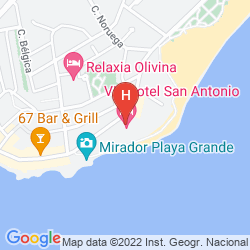 Map VIK SAN ANTONIO HOTEL