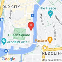 Map MERCURE BRISTOL BRIGSTOW