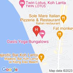 Map TWIN LOTUS KOH LANTA