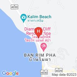 Map CENTARA BLUE MARINE RESORT & SPA PHUKET