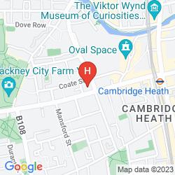 Map MAMA SHELTER LONDON