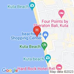 Map HARRIS RESORT KUTA BALI