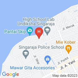Map ANEKA LOVINA BEACH
