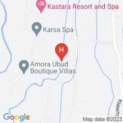 Map WAPA DI UME RESORT & SPA
