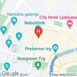 Map BEST WESTERN PREMIER SLON