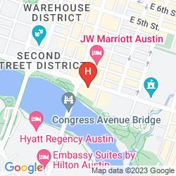 Map RADISSON HOTEL & SUITES AUSTIN DOWNTOWN