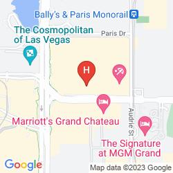 Map PLANET HOLLYWOOD RESORT & CASINO