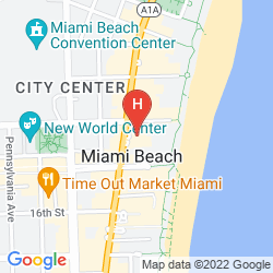 Map NATIONAL HOTEL MIAMI BEACH