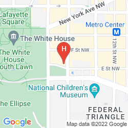 Map WILLARD INTERCONTINENTAL